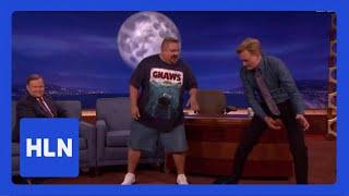 No joke! Comic tells Conan his weight loss secret