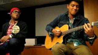 Bruno Mars  Somewhere In Brooklyn 2010 Private Acoustic Live At Omd La