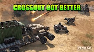 Crossout Got Even Better! | Apocalyptic Vehicle Shooter