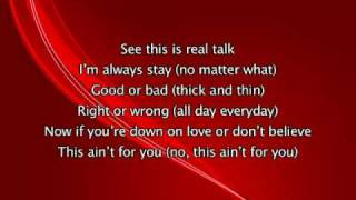Mary J Blige - Be Without You, Lyrics In Video
