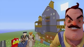 Minecraft XBOX - Hide and Seek - Hello Neighbor