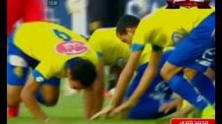 محمد فتحي يسجل الهدف الأول للإسماعيلي فى النصر للتعدين