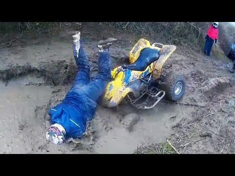 Ultimate ATV Crashes/Fails & Quad Wrecks