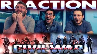 Captain America: Civil War Trailer REACTION and ANALYSIS!!