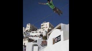 Dimitris Dk' Kyrsanidis - Red Bull Art Of Motion Santorini 2013 ( Freerunning,highlights,backstage)