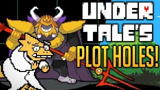 UNDERTALE's Plot Holes - Why The Story Makes No Sense! Undertale Theory | UNDERLAB