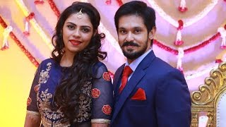 Actor Nakul and Shruthi Wedding Reception Video - TS