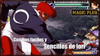 Combos fáciles y sencillos de Iori | KOF 2002 Magic Plus