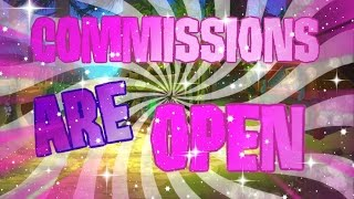 ANIMAL JAM COMMISSIONS OPEN | INTRO, OUTRO BANNER, TRAILER & THUMBMNAILS