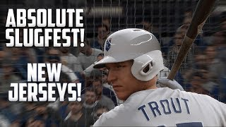ABSOLUTE SLUGFEST! New Uniforms! MLB The Show 17 Diamond Dynasty Gameplay  [#AskMovie Part 3]]