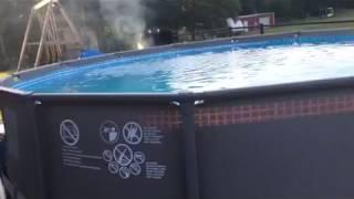 Intex 14 x 42 above ground pool