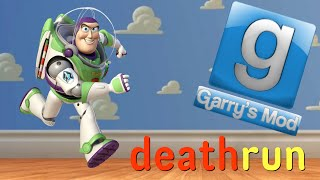 Garry's Mod Deathrun Fun: Toy Story Edition - Thumbtacks, Space Ranger Training, Andy's Favorite Toy