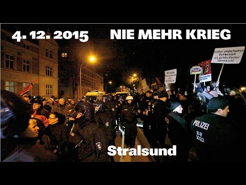 Nie mehr Krieg   Stralsund 4.12.2015