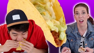 People Eat Taco Bell For The First Time