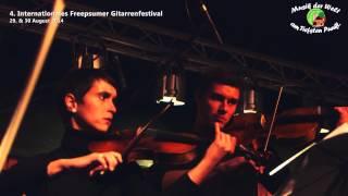 Reportage über das 4. Internationale Freepsumer Gitarrenfestival 2014