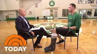NBA Boston Celtics Player Gordon Hayward Opens Up About His Devastating Injury | TODAY