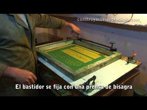 Fabricación de circuitos impresos con el método de serigrafía