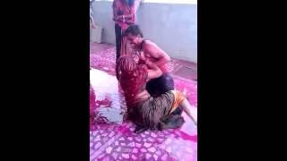 desi bhabi fun with his dever...