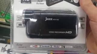 at Walmart see your video camera don't know if should I get it Jazz HDV140 Video Camcorder