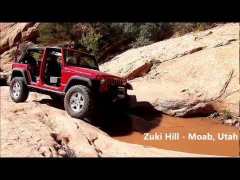 Jeep Rubicon 4 door Zuki Hill Moab Utah