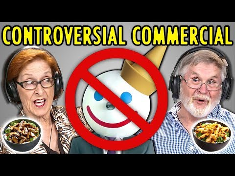 """Elders React To Controversial """"Balls"""" Commercial (Jack In The Box Ad)"""