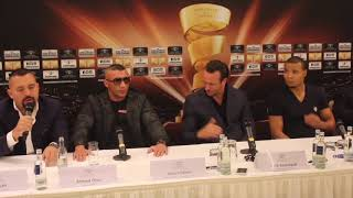 CHRIS EUBANK JR v AVNI YILDIRIM - *THE FULL & UNCUT* HEATED PRESS CONFERENCE (STUTTGART) / WSSB