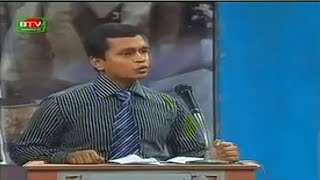 BTV Debate- Rifat's Speech in Semi Final Round @ 21st National TV Debate Competition