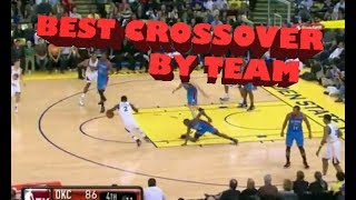 NBA Best Crossover Ever By Team
