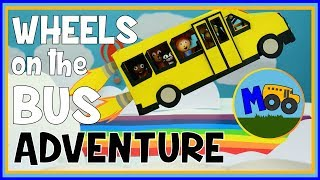 Wheels on the Bus - A Stop Motion Animation Adventure for Kids