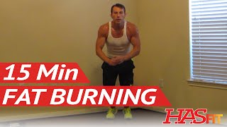 15 Min Inferno Fat Burning Workout - Weight Loss Exercises at Home - Workout to Lose Weight