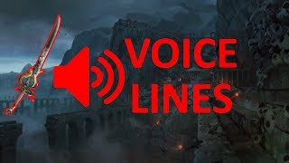 Path Of Exile - Oni-Goroshi Voice Lines (Excluding Random/exile Kill Lines)