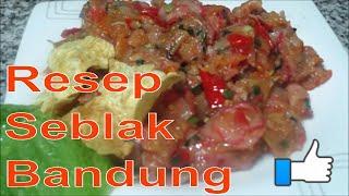 cara membuat seblak - resep seblak - resep masakan indonesia sehari hari