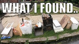 LOOK WHAT I FOUND IN THE TRASH THIS WEEK! - Trash Picking Ep. 149
