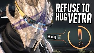 Mass Effect Andromeda 💖 Refuse to Hug Vetra in Your First Romantic Night