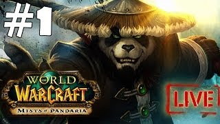 World of Warcraft Mist of Pandaria Walkthrough Part 1 Gameplay Let's Play Playthrough  [HD]