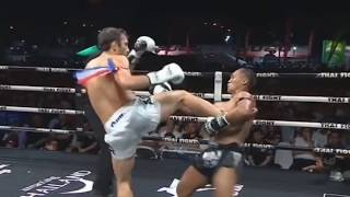 Saenchai Thai Vs Amir Naseri Iran Thai Fight 7 July 2018