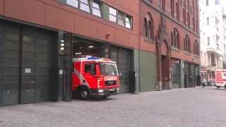 Berlin Fire Department - Collection - Engine And Ambulance Responce! LHF - RTW