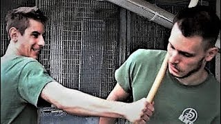 KRAV MAGA TRAINING • Stick vs bare hands: how to counterattack stick beatings (part 2)