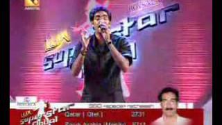 Ratheesh singing En swaram poovidum on SSG Amrita TV
