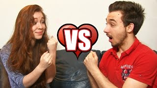 BOYFRIEND VS GIRLFRIEND CHALLENGE ! 5 TAG en Amoureux !