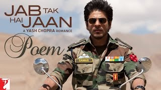 Jab Tak Hai Jaan - Poem with Opening Credits