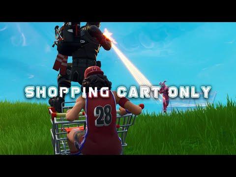 Shopping cart META is UPON US