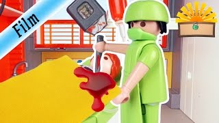 NOTFALL OPERATION bei STEFAN - FAMILIE Bergmann #32 | Staffel 2 - Playmobil Film deutsch