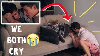 I DON'T LOVE YOU PRANK! (he cries and leaves) FORGIVE ME :(