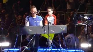 Coldplay  Everglow With Oscar  Gila River Arena  Glendale Az