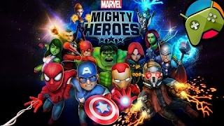 Marvel Mighty Heroes - Trailer HD - Android Free Games