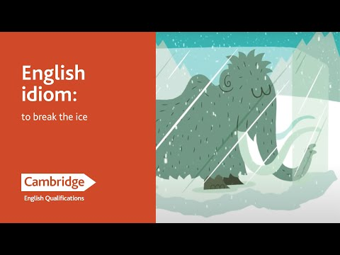 watch Idioms: To Break the Ice