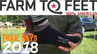 Trail Days 2018 Gear Vendors ~ Farm to Feet (2 NEW socks)