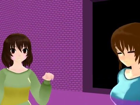Xxx Mp4 MMD Chara And Frisk Hanging Out Teaser ✔ 3gp Sex