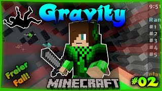 FREIER FALL IN DEN TOD! | Minecraft Gravity | [Deutsch/Full HD]